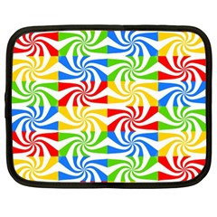 Colorful Abstract Creative Netbook Case (XL)