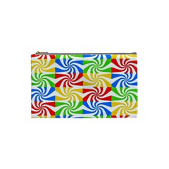 Colorful Abstract Creative Cosmetic Bag (Small)