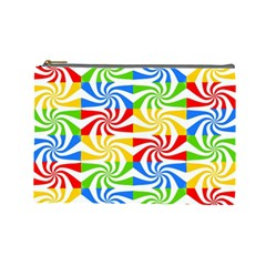 Colorful Abstract Creative Cosmetic Bag (Large)