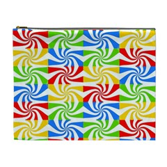 Colorful Abstract Creative Cosmetic Bag (XL)