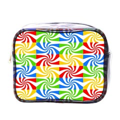 Colorful Abstract Creative Mini Toiletries Bags