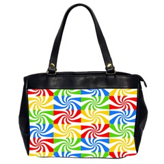 Colorful Abstract Creative Office Handbags (2 Sides)