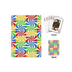 Colorful Abstract Creative Playing Cards (Mini)
