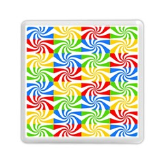 Colorful Abstract Creative Memory Card Reader (Square)