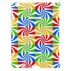 Colorful Abstract Creative Apple iPad 3/4 Hardshell Case (Compatible with Smart Cover)