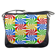 Colorful Abstract Creative Messenger Bags