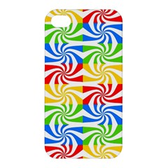 Colorful Abstract Creative Apple Iphone 4/4s Premium Hardshell Case