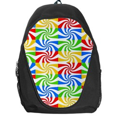 Colorful Abstract Creative Backpack Bag