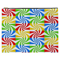 Colorful Abstract Creative Cosmetic Bag (xxxl)