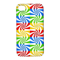Colorful Abstract Creative Apple Iphone 4/4s Hardshell Case With Stand