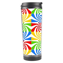 Colorful Abstract Creative Travel Tumbler