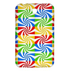 Colorful Abstract Creative Samsung Galaxy Tab 3 (7 ) P3200 Hardshell Case