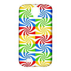 Colorful Abstract Creative Samsung Galaxy S4 Classic Hardshell Case (pc+silicone)