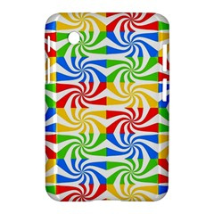 Colorful Abstract Creative Samsung Galaxy Tab 2 (7 ) P3100 Hardshell Case