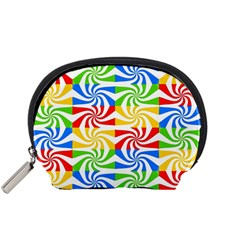 Colorful Abstract Creative Accessory Pouches (small)