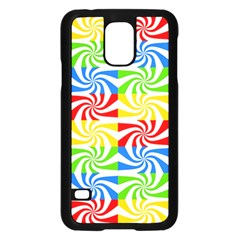 Colorful Abstract Creative Samsung Galaxy S5 Case (black)