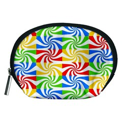 Colorful Abstract Creative Accessory Pouches (medium)