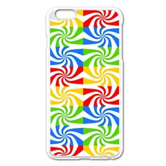 Colorful Abstract Creative Apple Iphone 6 Plus/6s Plus Enamel White Case