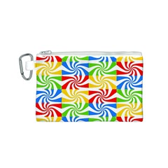Colorful Abstract Creative Canvas Cosmetic Bag (s)