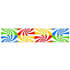 Colorful Abstract Creative Flano Scarf (small)