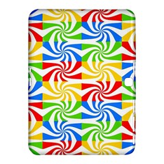 Colorful Abstract Creative Samsung Galaxy Tab 4 (10 1 ) Hardshell Case