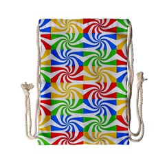 Colorful Abstract Creative Drawstring Bag (Small)