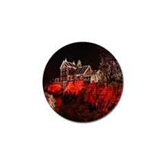Clifton Mill Christmas Lights Golf Ball Marker (10 pack)