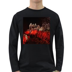 Clifton Mill Christmas Lights Long Sleeve Dark T-Shirts