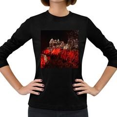 Clifton Mill Christmas Lights Women s Long Sleeve Dark T-Shirts