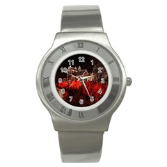 Clifton Mill Christmas Lights Stainless Steel Watch
