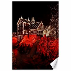 Clifton Mill Christmas Lights Canvas 20  x 30