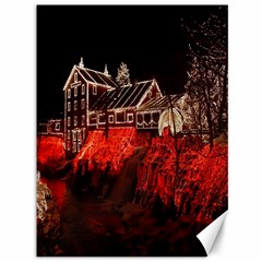 Clifton Mill Christmas Lights Canvas 36  X 48