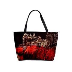 Clifton Mill Christmas Lights Shoulder Handbags