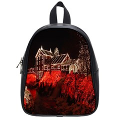 Clifton Mill Christmas Lights School Bags (Small)