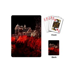 Clifton Mill Christmas Lights Playing Cards (Mini)