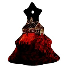 Clifton Mill Christmas Lights Christmas Tree Ornament (two Sides)