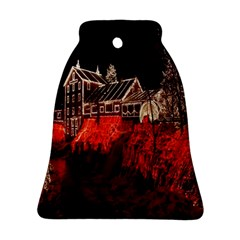 Clifton Mill Christmas Lights Bell Ornament (Two Sides)
