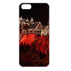 Clifton Mill Christmas Lights Apple iPhone 5 Seamless Case (White)