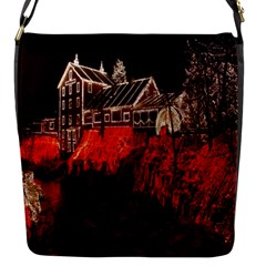 Clifton Mill Christmas Lights Flap Messenger Bag (s)
