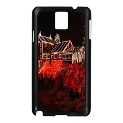 Clifton Mill Christmas Lights Samsung Galaxy Note 3 N9005 Case (Black)