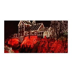 Clifton Mill Christmas Lights Satin Wrap