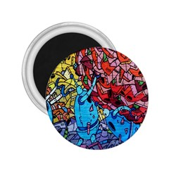 Colorful Graffiti Art 2.25  Magnets