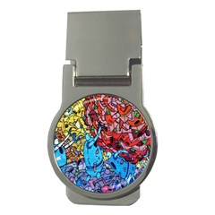 Colorful Graffiti Art Money Clips (Round)
