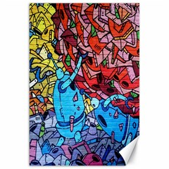 Colorful Graffiti Art Canvas 20  x 30