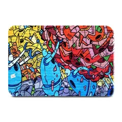Colorful Graffiti Art Plate Mats