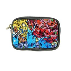 Colorful Graffiti Art Coin Purse