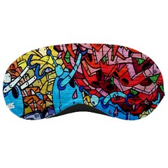 Colorful Graffiti Art Sleeping Masks