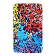 Colorful Graffiti Art Memory Card Reader