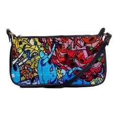 Colorful Graffiti Art Shoulder Clutch Bags