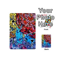 Colorful Graffiti Art Playing Cards 54 (Mini)